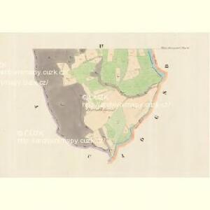 Klein Hermsdorf (Mala Heřmanka) - m0699-1-003 - Kaiserpflichtexemplar der Landkarten des stabilen Katasters