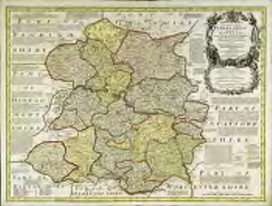 An accurate map of Shrop Shire