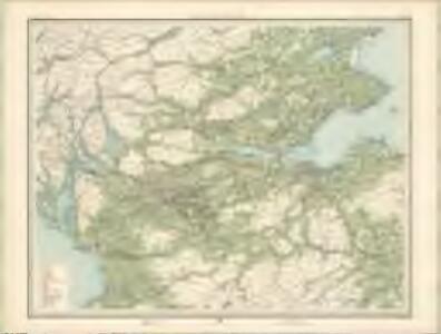 Economic Map of Central Scotland - Bartholomew's 'Survey Atlas of Scotland'