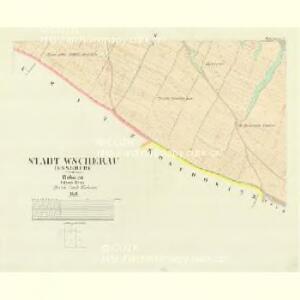Wscherau (Wsseruby) - c8904-1-004 - Kaiserpflichtexemplar der Landkarten des stabilen Katasters