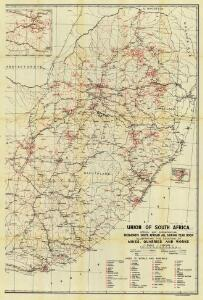 Union of South Africa Special Map Accompanying Richmond's South African All Mining Year Book (Sheet 2)