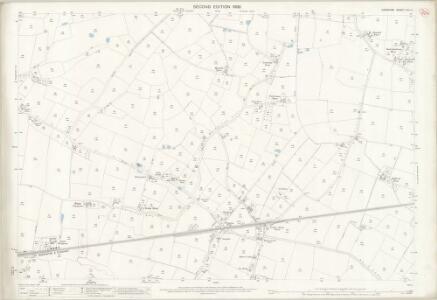 Cheshire XVII.4 (includes: Dunham Massey; Lymm; Warburton) - 25 Inch Map