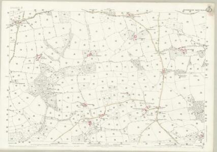 Devon XLIV.12 (includes: Cheriton Fitzpaine; Cruwys Morchard) - 25 Inch Map