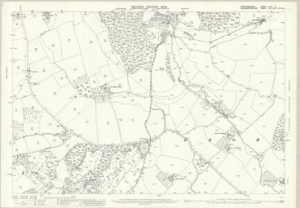 Herefordshire XLII.9 (includes: Bromsberrow; Donnington; Eastnor; Ledbury Rural) - 25 Inch Map