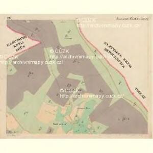 Eisenstrass - c1950-1-004 - Kaiserpflichtexemplar der Landkarten des stabilen Katasters