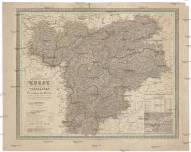 Die gefuerstete Grafschaft Tyrol nebst Vorarlberg und dem Fürstenthum Liechtenstein