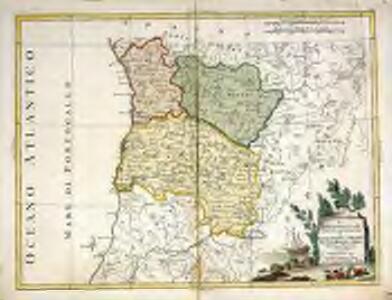 Il Portogallo cioè le provincie di Entre Douro, e Minho, Traz-Os-Montes, e Beira