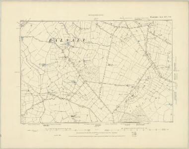 Warwickshire XXV.NW - OS Six-Inch Map