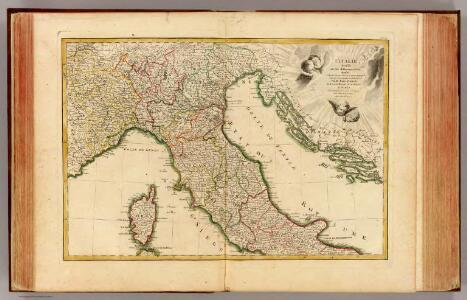 L'Italie septentrionale.