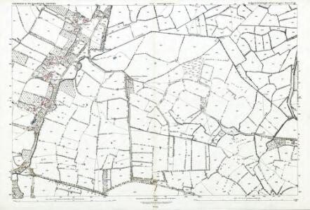 Gloucestershire LV.14 (includes: Oldbury upon Severn; Rockhampton; Thornbury) - 25 Inch Map