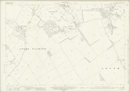 Oxfordshire XLVII.2 (includes: Adwell; Pyrton; South Weston; Stoke Talmage; Wheatfield) - 25 Inch Map