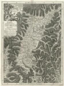 Mappa Comitatvs Thvrotziensis.