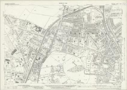 Middlesex XXV.3 (includes: Twickenham St Mary The Virgin) - 25 Inch Map