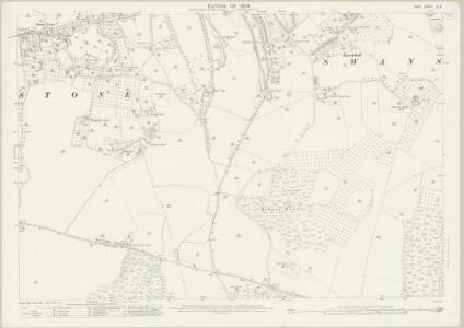 Kent IX.8 (includes: Darenth; Stone; Swanscombe) - 25 Inch Map
