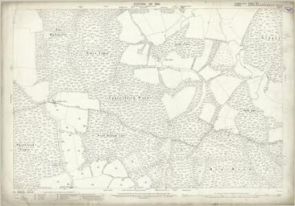 Sussex XII.1 (includes: Alfold; Dunsfold; Plaistow) - 25 Inch Map