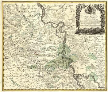 Territorium Seculare Episcopatus Wormatiensis Tabula Geographica