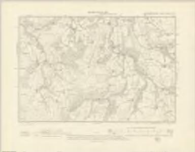 Montgomeryshire XXXIII.NW - OS Six-Inch Map