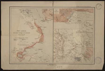 Port d'Obock et possessions françaises sur la mer Rouge