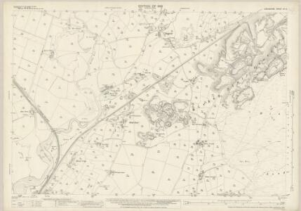Lancashire XI.5 (includes: Angerton; Kirkby Ireleth) - 25 Inch Map