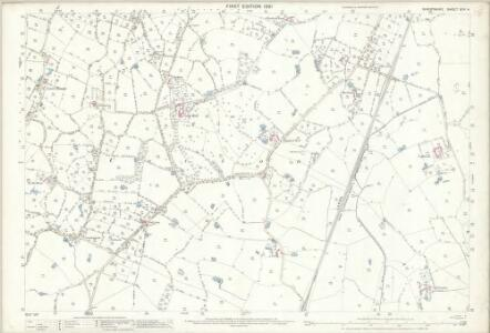 Shropshire XIV.4 (includes: Prees; Wem Rural; Whixall) - 25 Inch Map