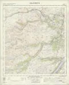 Strathpeffer - OS One-Inch Map