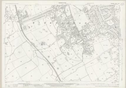 Cheshire XIII.6 (includes: Birkenhead St Mary) - 25 Inch Map
