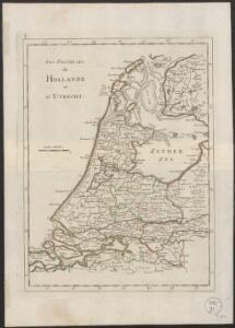 Les provinces de Hollande et d'Utrecht