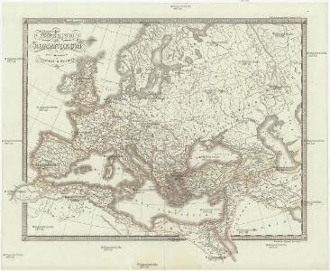 Imperium Romanorum post divisionem occidentale & orientale