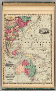 China East Indies Australia And Oceanica.