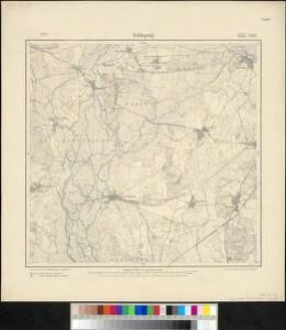 Meßtischblatt 2181 : Schlepzig, 1903