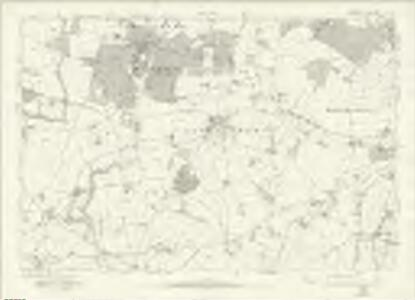 Staffordshire LXI - OS Six-Inch Map