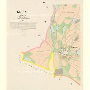 Klenau - c3146-1-003 - Kaiserpflichtexemplar der Landkarten des stabilen Katasters