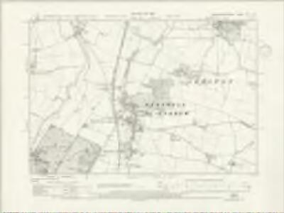 Northamptonshire XIX.SW - OS Six-Inch Map