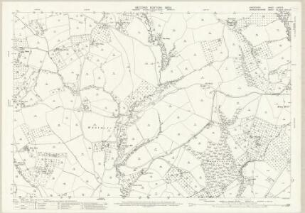 Shropshire LXXIX.16 (includes: Boraston; Kington On Teme; Milson; Nash) - 25 Inch Map