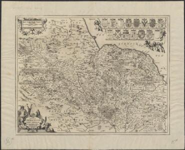 Ducatus Eboracensis Pars Borealis = The Northridinge of Yorkshire