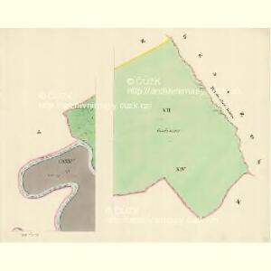 Göding (Hodonin) - m0741-1-006 - Kaiserpflichtexemplar der Landkarten des stabilen Katasters