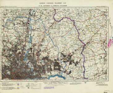 London passenger transport map