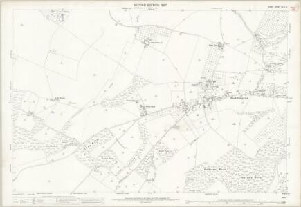 Kent XLIV.2 (includes: Doddington; Kingsdown; Milstead; Wichling) - 25 Inch Map