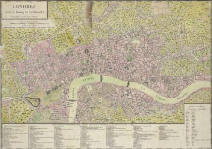 LONDRES avec le Bourg de Southwark