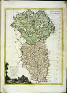 Parte del regno d'Irlandia, cioè le provincie d'Ulster, e Leinster