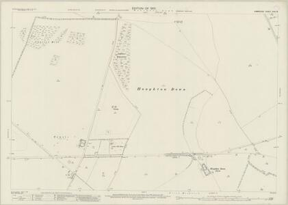Hampshire and Isle of Wight XXXI.15 (includes: Broughton; Houghton; Longstock; Nether Wallop) - 25 Inch Map