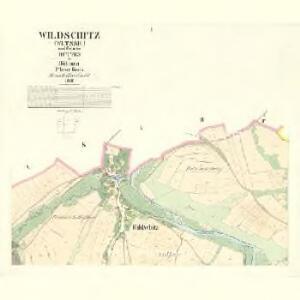 Wildschitz (Wltssic) - c8668-1-001 - Kaiserpflichtexemplar der Landkarten des stabilen Katasters