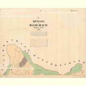 Kunass - c3705-1-001 - Kaiserpflichtexemplar der Landkarten des stabilen Katasters