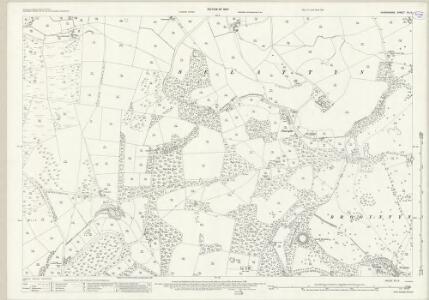 Shropshire XII.9 (includes: Selattyn) - 25 Inch Map