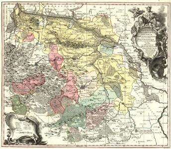 Principatus Halberstadiensis Abbat: Quedlinburgens cum Comitatu Wernigerodano