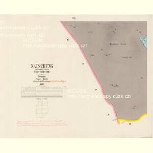 Natschung - c4936-1-007 - Kaiserpflichtexemplar der Landkarten des stabilen Katasters
