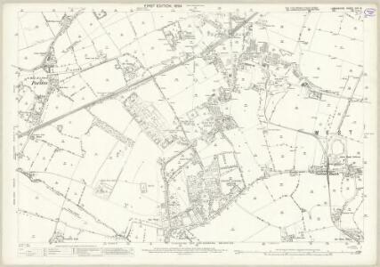 Lancashire CVII.8 (includes: Eccleston; Rainhill; St Helens; Whiston) - 25 Inch Map