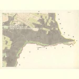 Sponau (Spalow) - m2820-1-009 - Kaiserpflichtexemplar der Landkarten des stabilen Katasters