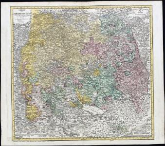 Charte vom Schwaebischen Kreis : nach dem Entschädigungsplan im Jahr 1802 eingerichtet und illuminirt