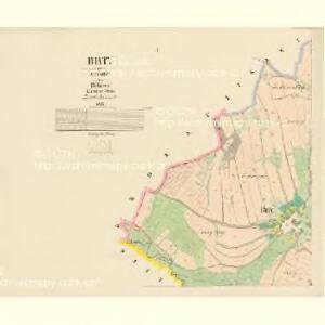 Brty - c0536-1-001 - Kaiserpflichtexemplar der Landkarten des stabilen Katasters
